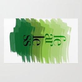 Fearless: Green Rug