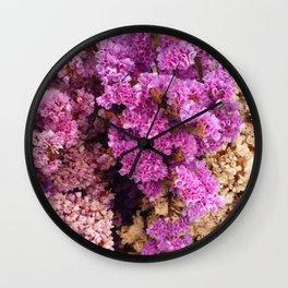 Sea Lavender Wall Clock