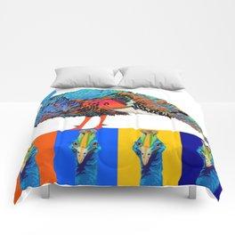 PeaHen & Cassowaries Comforters