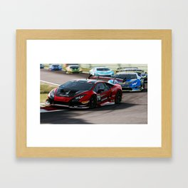Huracan Super Trofeo Framed Art Print
