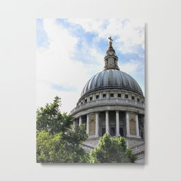 St. Paul's Cathedral Dome, London Metal Print