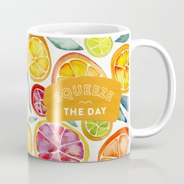 Squeeze the Day – Multi Palette Coffee Mug