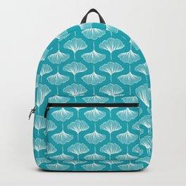 Gingko leaves vertical pattern Backpack