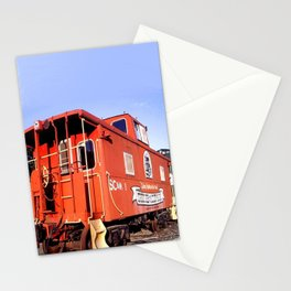 Lil Red Caboose -Wellsboro Ave Hurley ArtRave Stationery Cards