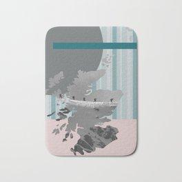 Scotland, the land of the mountains multi-coloured Bath Mat