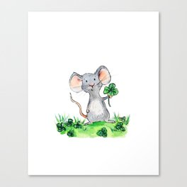 Melvin the Mouse Canvas Print