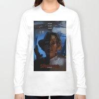 freddy krueger Long Sleeve T-shirts featuring Freddy Krueger - Never Sleep Again by Saint Genesis