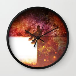 Medicated Wall Clock