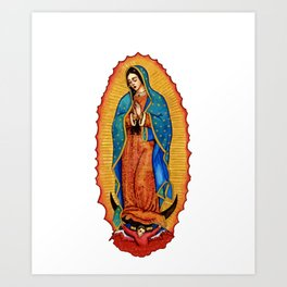 chola licious indian country pray wish garndma Art Print