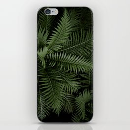 Tropical leaves 02 iPhone Skin