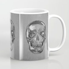grungy skull Mug