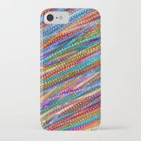 olivia joy iPhone & iPod Cases featuring Joy Strings by Joke Vermeer