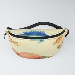 "Odilon Redon ""Fishes (Poissons)"" Fanny Pack"