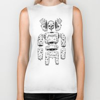 yeti Biker Tanks featuring YETI by Powis