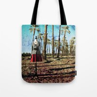 hollywood Tote Bags featuring Hollywood by Loveurstyle