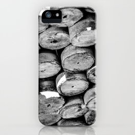 Abstract Concrete Rounds iPhone Case