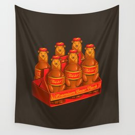 Pack of Bears Wall Tapestry