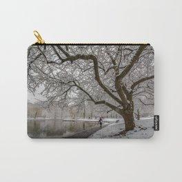 Boston Garden - winter walk Carry-All Pouch