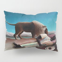 Henri Rousseau The Sleeping Gypsy Pillow Sham