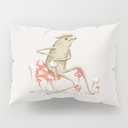 Awkward Toad Pillow Sham