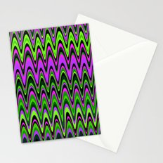 Making Waves Neon Lights Stationery Cards