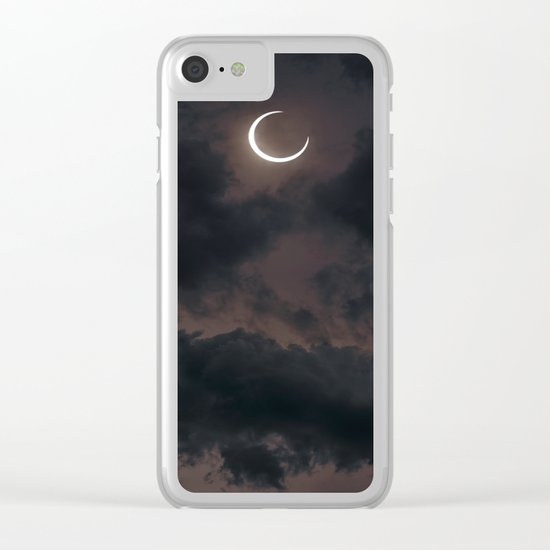 Cryptic Clear iPhone Case