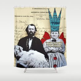 Doghouse Shower Curtain