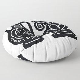 Corinthian Vase Floor Pillow
