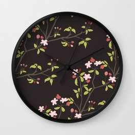 The cherry tree Wall Clock