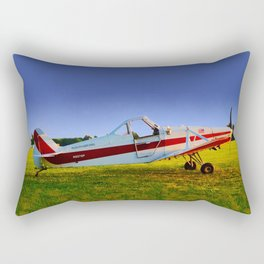 Tow Plane, Philadelphia Glider Council Rectangular Pillow