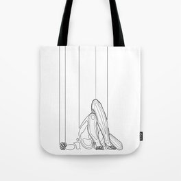 Marionette Two Tote Bag