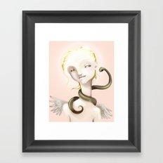 Good and Evil Framed Art Print