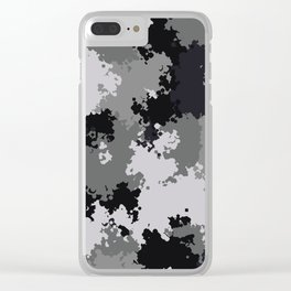 Camouflage urban 1 Clear iPhone Case