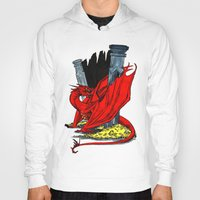 smaug Hoodies featuring Smaug the Stupendous by Lydia Joy Palmer