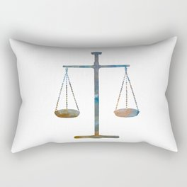 Scales of justice Rectangular Pillow