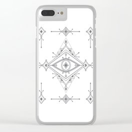 Wild Eye - Day Clear iPhone Case