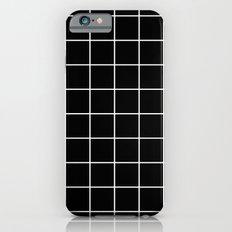 Black Grid  iPhone 6 Slim Case