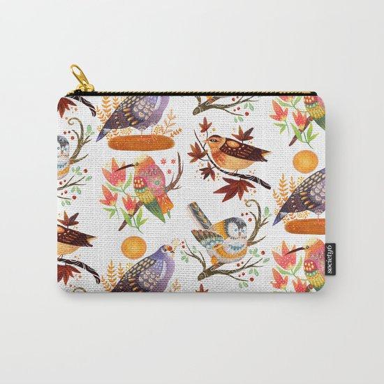 Seasonal Birds Carry-All Pouch