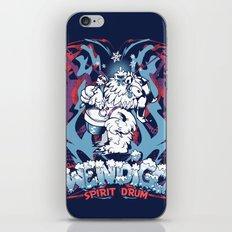 WENDIGO Spirit Drum iPhone & iPod Skin