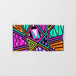 background abstract Hand & Bath Towel