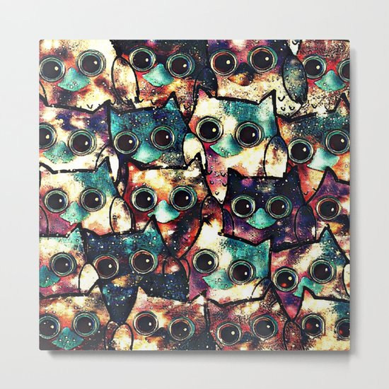 owl-345 Metal Print