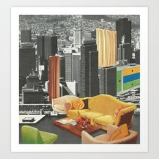 The City As Home 2 Art Print