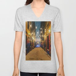 Winter Graffiti Unisex V-Neck