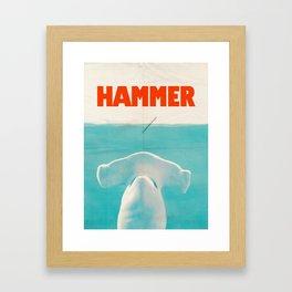 Hammer Framed Art Print