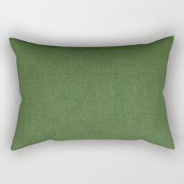 Sage Green Velvet texture Rectangular Pillow