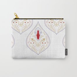 LUXURY COLLECTION : MOROCCO Paisleys Carry-All Pouch