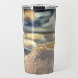 Egg Volcano baking biscuits kitchen art Travel Mug