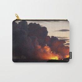 Lava Vaporizes Ocean Carry-All Pouch