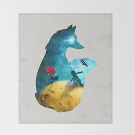 The Most Beautiful Thing (light version) Throw Blanket