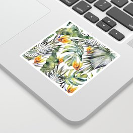 TROPICAL GARDEN Sticker